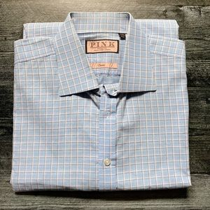 Men's Thomas Pink Classic Shirt - 17/35